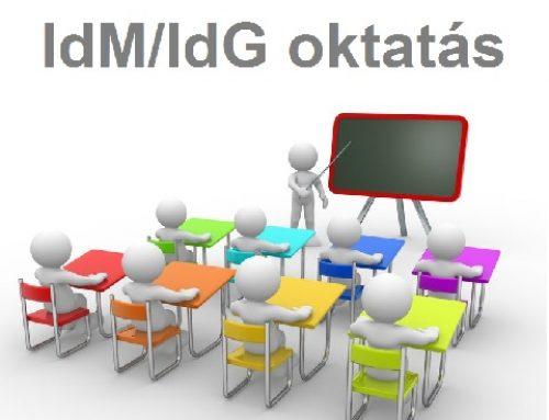 Egész napos IdM/IdG oktatás